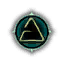 Game Icon Aard symbol unlit