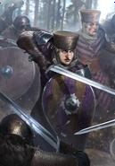 Tw3 cardart skellige clan drummond shieldmaiden 2