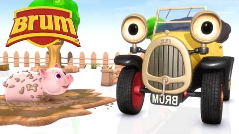 ★ Brum ★ Brum Plays 'Find The Colours' Part 2 - - KIDS SHOW FULL EPISODE