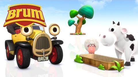 ★ Brum ★ Brum Helps Moo and Baa on the Hot Day - FULL 7 EPISODE HD - Kids Show