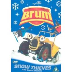 Snow Thieves DVD Cover