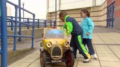 Brum and the Rampant Robot