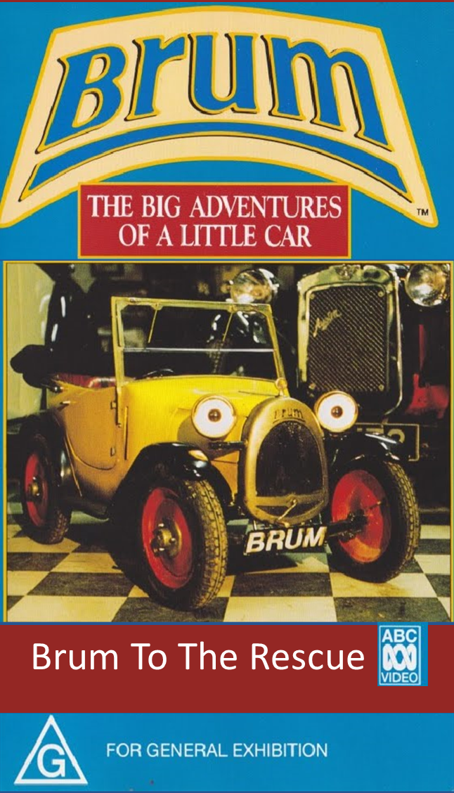 Brum To The Rescue (1992) Box Front