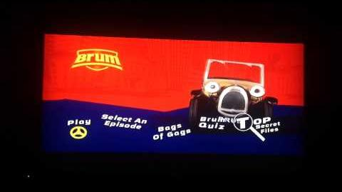 Brum Airport And Other Stories DVD Menu