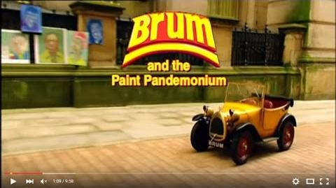 Brum and the Paint Pandemonium
