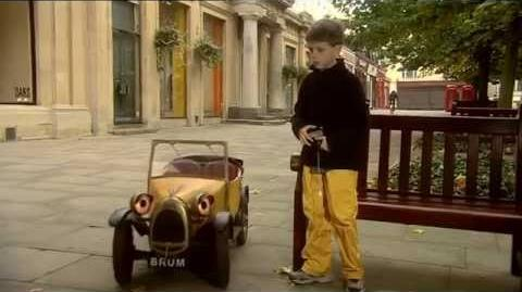 Brum's bag of gags- radio control car