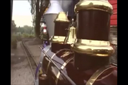 The locomotive's boiler