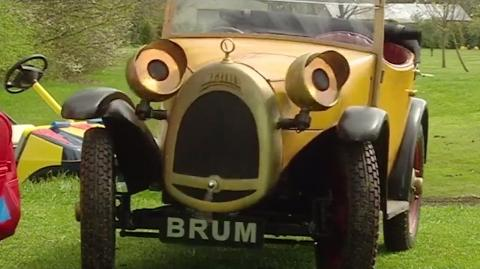 Brum and the Golf Buggy