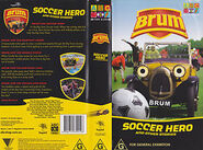 Soccer Hero Vhs Cover and Rear