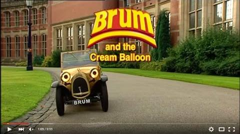 Brum and the Cream Balloon