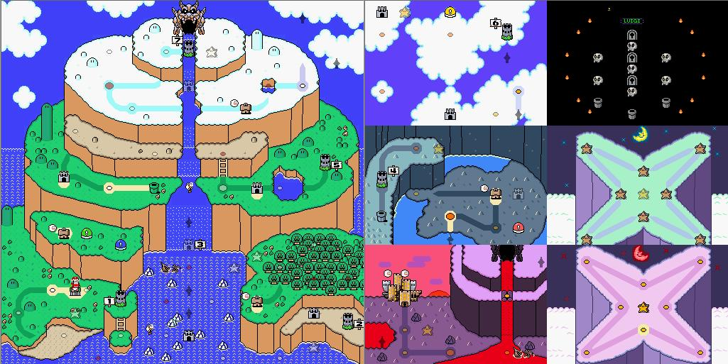 The World Maps | The Brutal Mario Wiki | FANDOM powered by Wikia