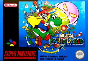 brutal mario world rom download