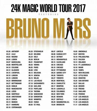 1479375895 310 Bruno-Mars-Announces24K-Magic-World-Tour