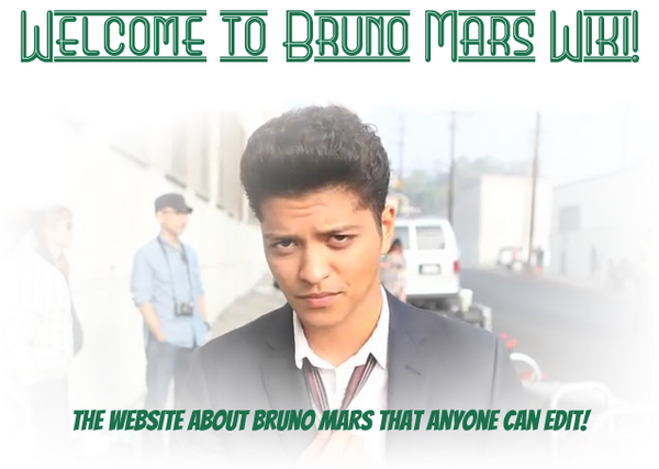 Bruno Mars Wiki | FANDOM powered by Wikia