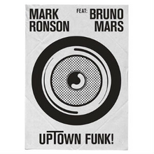 Mark Ronson - Uptown Funk (feat. Bruno Mars) (Official Single Cover)