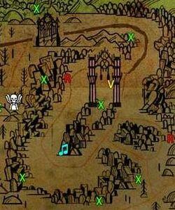 Dry Ice Mines Map
