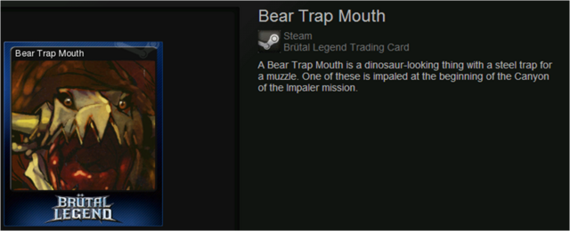 Bear Trap Mouth normal