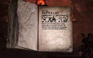 Battle Cry Tour Book