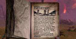 Fan Geysers Tour Book