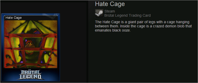 Hate Cage normal