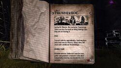 Thunderhog Tour Book