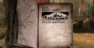 Rally Army Tour Book