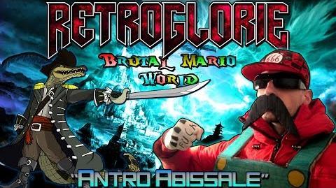 "♛ RetroGlorie ♛ Brutal Mario World ♛ Ep. 2 ""Antro Abissale"" ♛ by Dio del Metal"