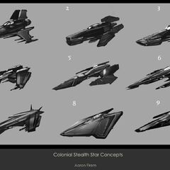 Colonial Stealthstar Concepts
