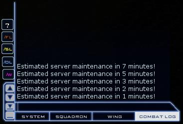Maintenance - Combat