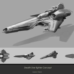 Stealthstar Concept Drawing
