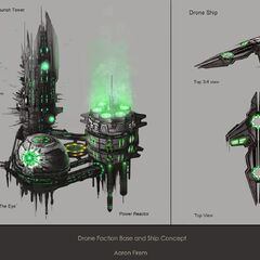 Drone Base and Ship Concepts