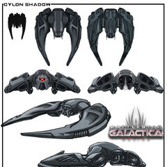 Cylon Shadow Concept Drawing