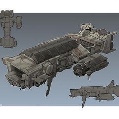 Aesir Concept Drawing