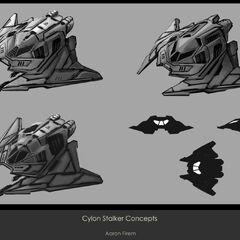 Cylon Stalker Concepts 3
