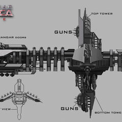 Concept Art - Unnamed Ship