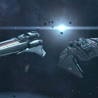 The Viper Mark III and the War Raider Mark II.