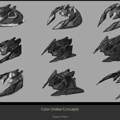 Cylon Stalker Concepts 2