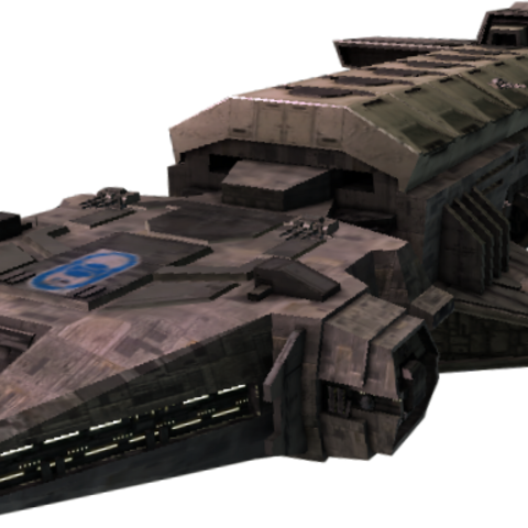 Original Aesir ship model.