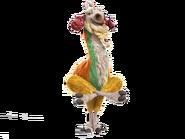 Shangri Llama pose