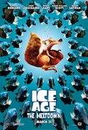 ICE AGE THE MELTDOWN POSTER