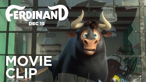 "Ferdinand ""Bull in a China Shop"" Clip FOX Family"