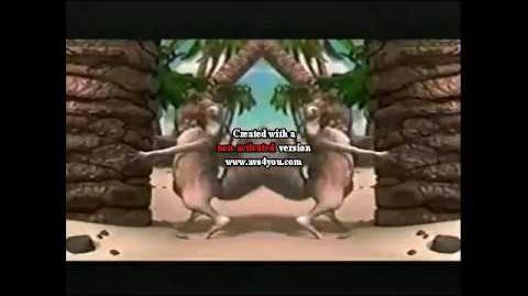 Ice Age Scrat Commercial 2002
