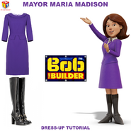 Mayor Maria Madison Dress-Up Tutorial