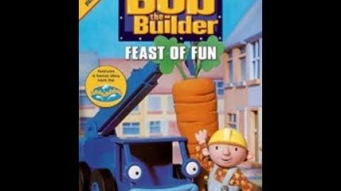 Bob the Builder - Feast of Fun (UK DVD, 2004)