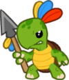 Tribal Turtle Icon