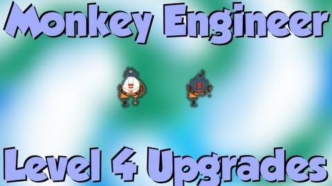 BTD5 Bloons Tower Defense 5 Monkey Engineer Level 4 Upgrades