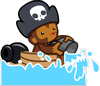 Monkey Buccaneer Icon