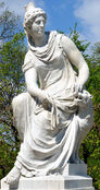 Rhea statue