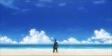 Sakamoto on the beach