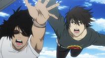 Oda and Ryota chase after good